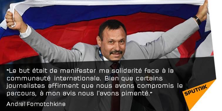 L'homme qui a porté le #drapeau russe à #Rio raconte https://t.co/ggSZiPFpMi #Fomotchkine #Russie #Biélorussie
