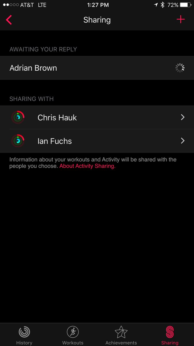 Any have a workaround for the iOS 10 activity sharing bug? Sometimes invites hang and can't be accepted... any tips? https://t.co/EFyCqbMNxv