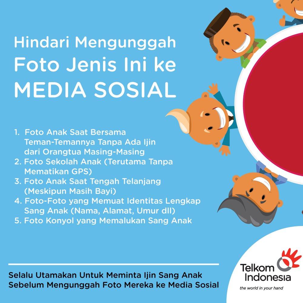 """Telkom Indonesia على تويتر """"Berikut Jenis Gambar Anak Yang"""