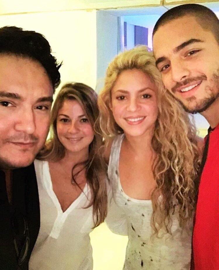 "ShakiraTimor on Twitter: ""Mas fotos de Shakira y Maluma en ..."