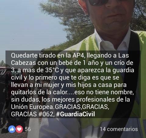 Asociación Pro Guardia Civil On Twitter Satisfacción Del Deber