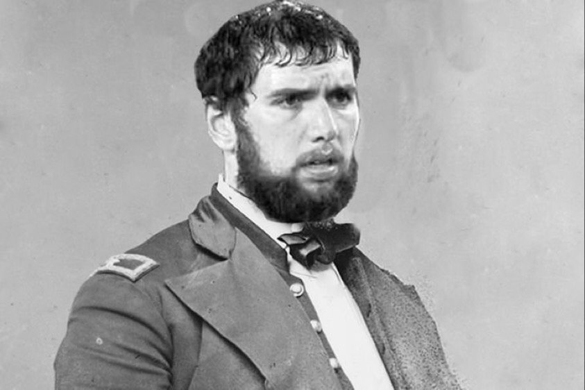 Dearest Sue  I spat on General Prater as his troops devoured our camp.   We venture west. My kidney aches,  Andrew https://t.co/dWSXHWGngQ