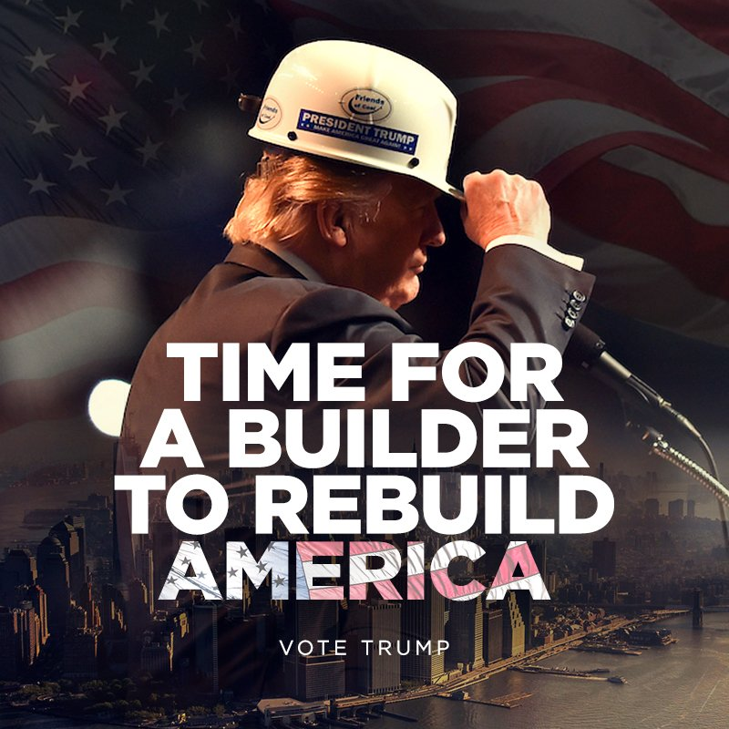 Image result for time for a builder to rebuild america