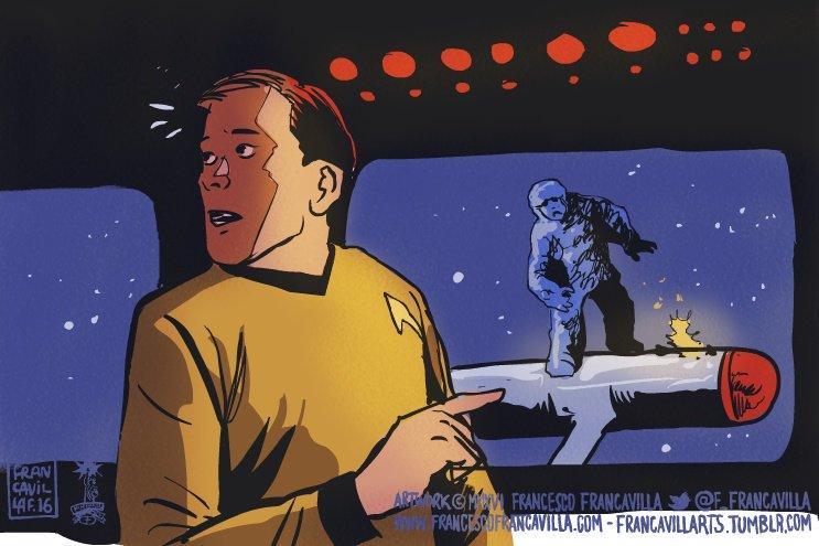 My favorite @StarTrek episode is when Kirk sees this alien sabotaging the Enterprise engine but nobody believes him. https://t.co/7ge9Cy8esQ