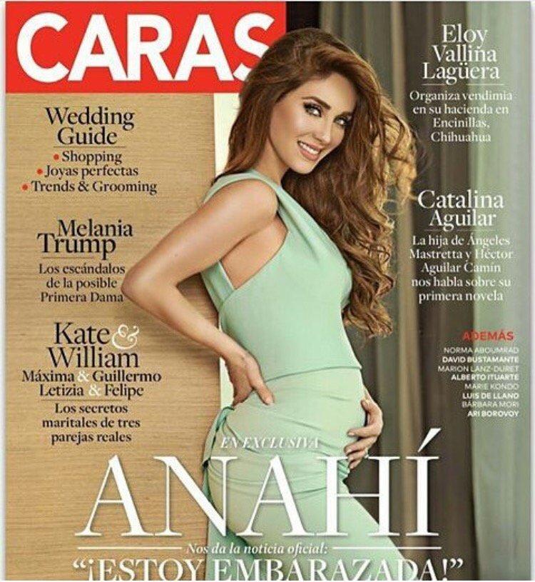 Felicidades @Anahi por tu embarazo! Qué buena noticia y que linda sorpresa para tus fans