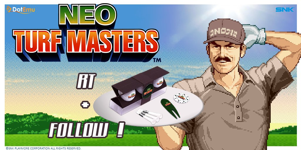 It's #giveaway time: 5 official #NeoTurfMasters golf balls sets to win! Just Follow + RT this before the 9/19! https://t.co/y9CPQdnC5W