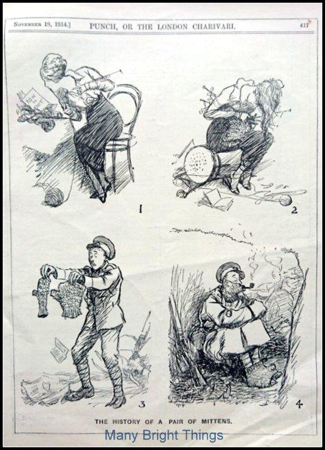 Fabulous WW1 knitting cartoon - see all the detail on https://t.co/vE4wzrvQH6 https://t.co/LFQtLlddg0