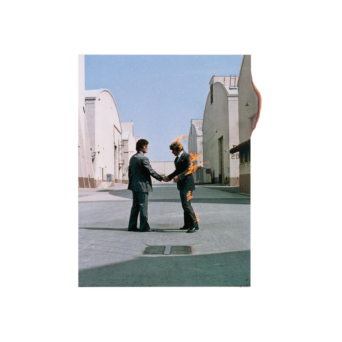 What was the significance of the handshake on the cover of Wish You Were Here, released today in 1975? https://t.co/ydP1IBH7YK