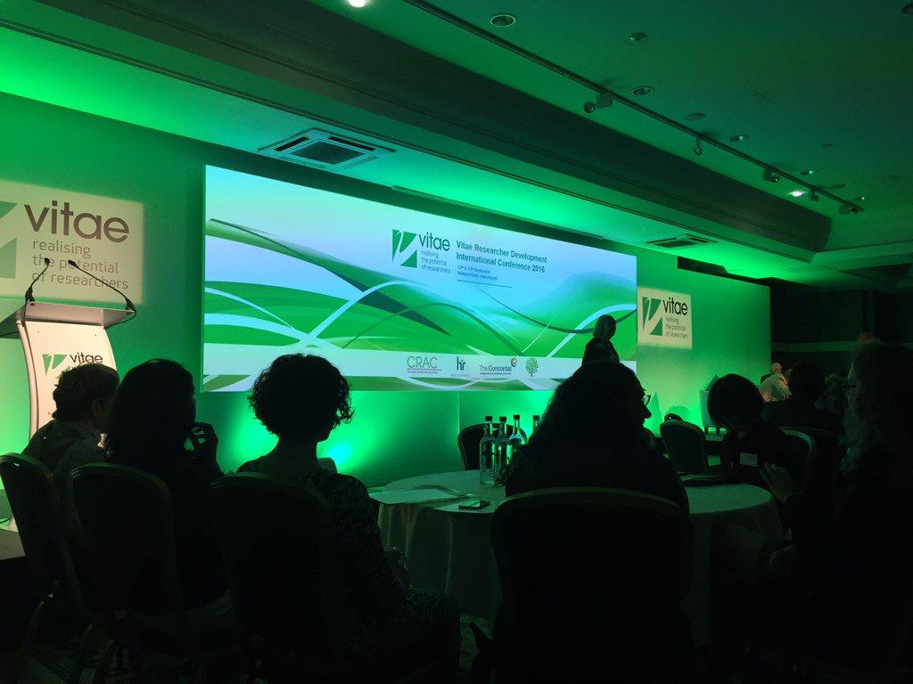 Thumbnail for Vitae Researcher Development International Conference, 12-13 September, Manchester, UK