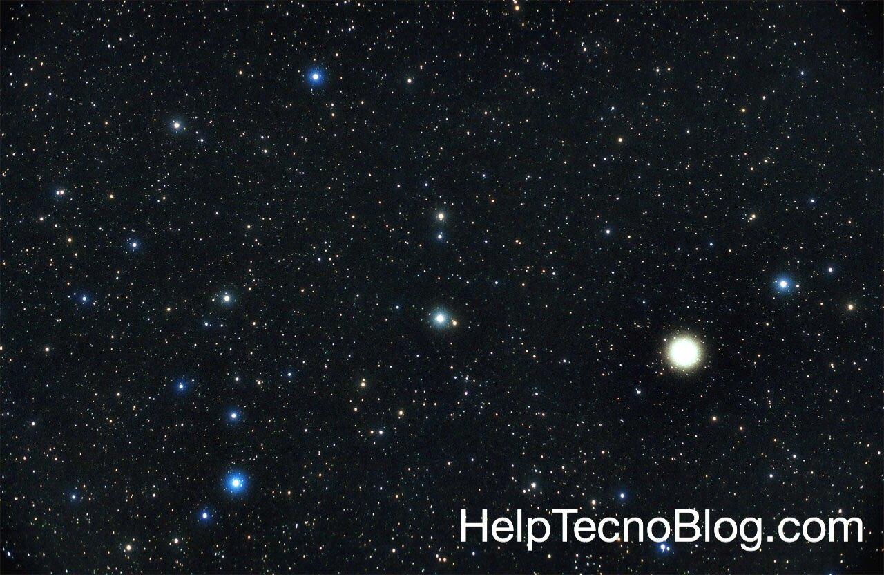 Come si chiama un insieme di stelle? Costellazione