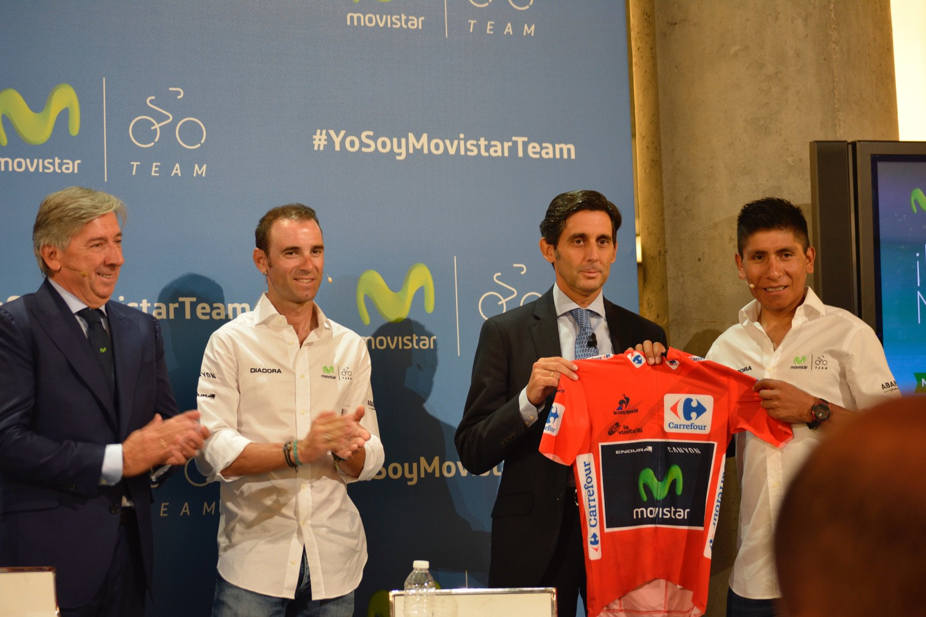 Telefónica patrocinio Movistar Team