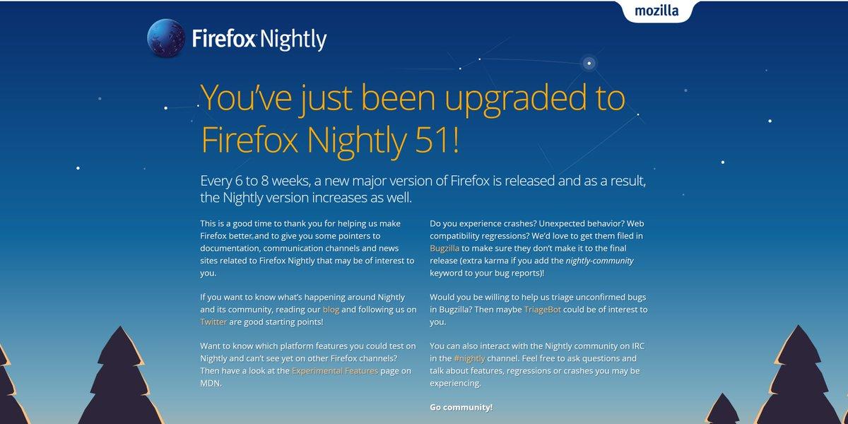 Firefox Nightly on Twitter:
