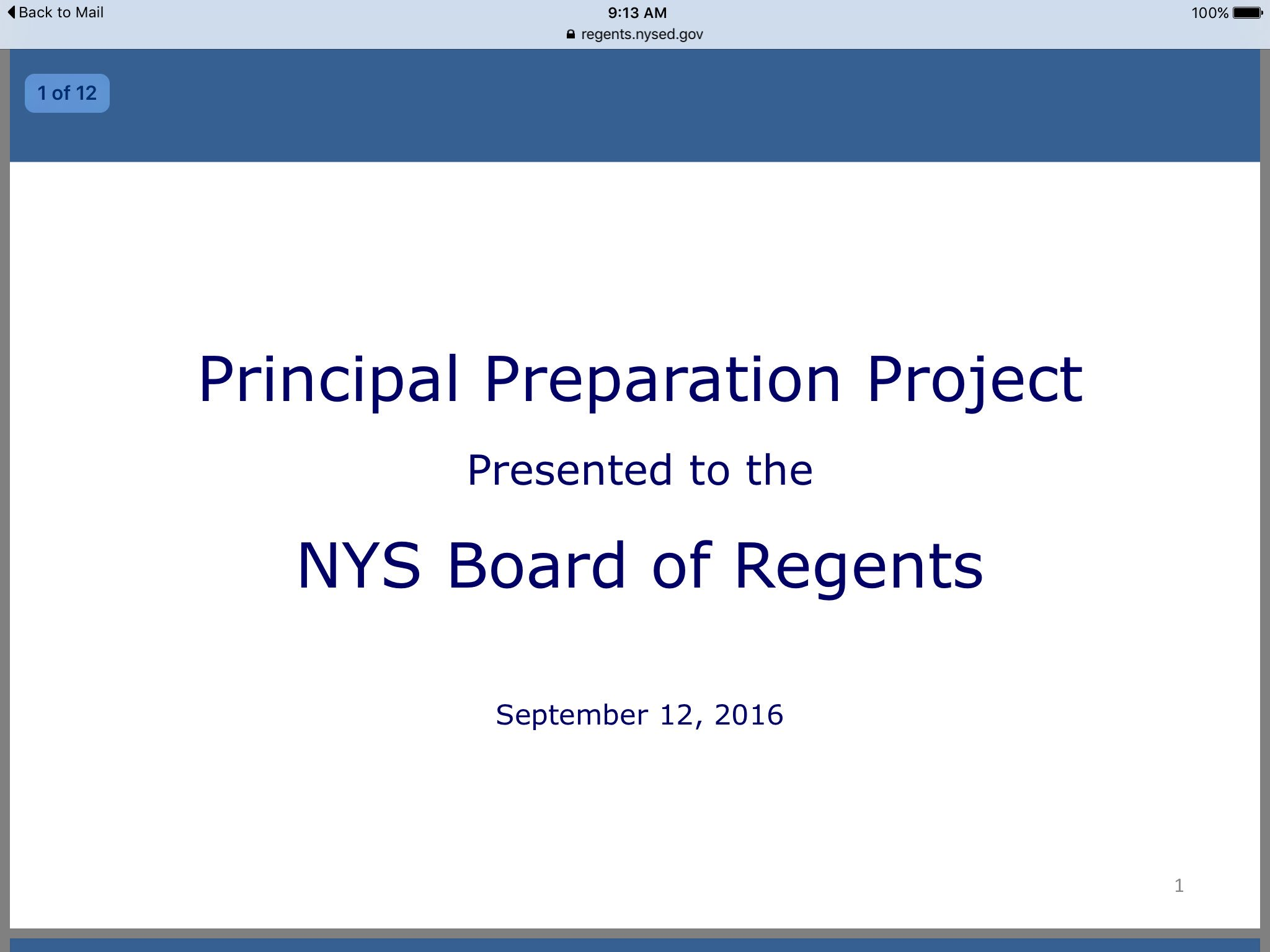 @NYSEDNews discussing new Principal project, @nyspta rural specialist Adrienne Rae will serve on this committee https://t.co/vWgFegPJjF