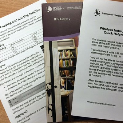 The library office has guides for connecting to WiFi and setting up membership card to use print/copier facilities https://t.co/XtaZcQDxyU