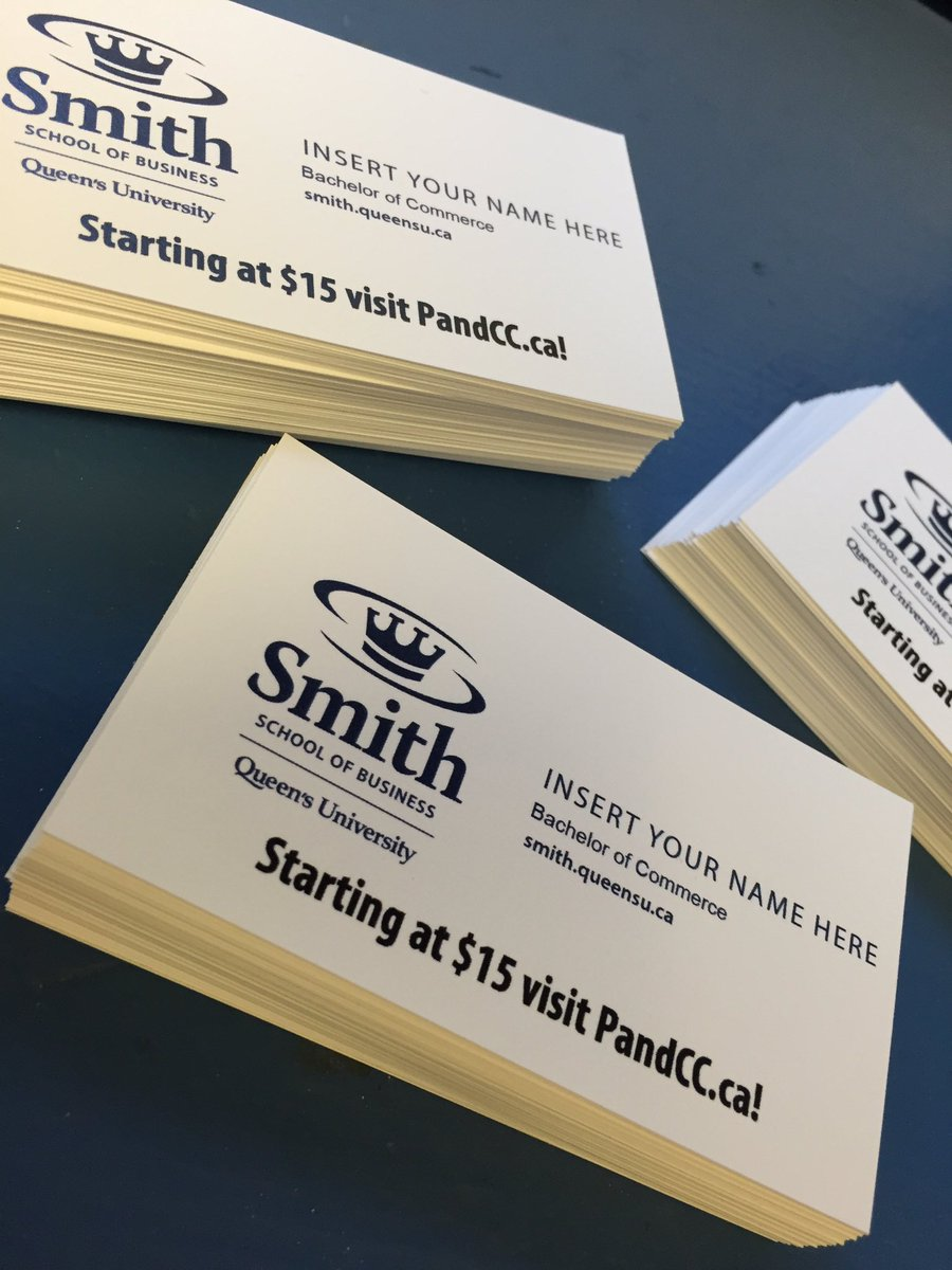pcc on twitter fall recruiting coming up fast print custom business cards with us we now have a rush option for an extra 500 - Fast Business Cards