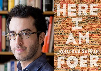 SAFRAN-FOER: Book tickets for Here I am author in conv. @McrLitFest with @Wintersonworld https://t.co/yMSj0zgjGQ https://t.co/f0LWjUqp6W