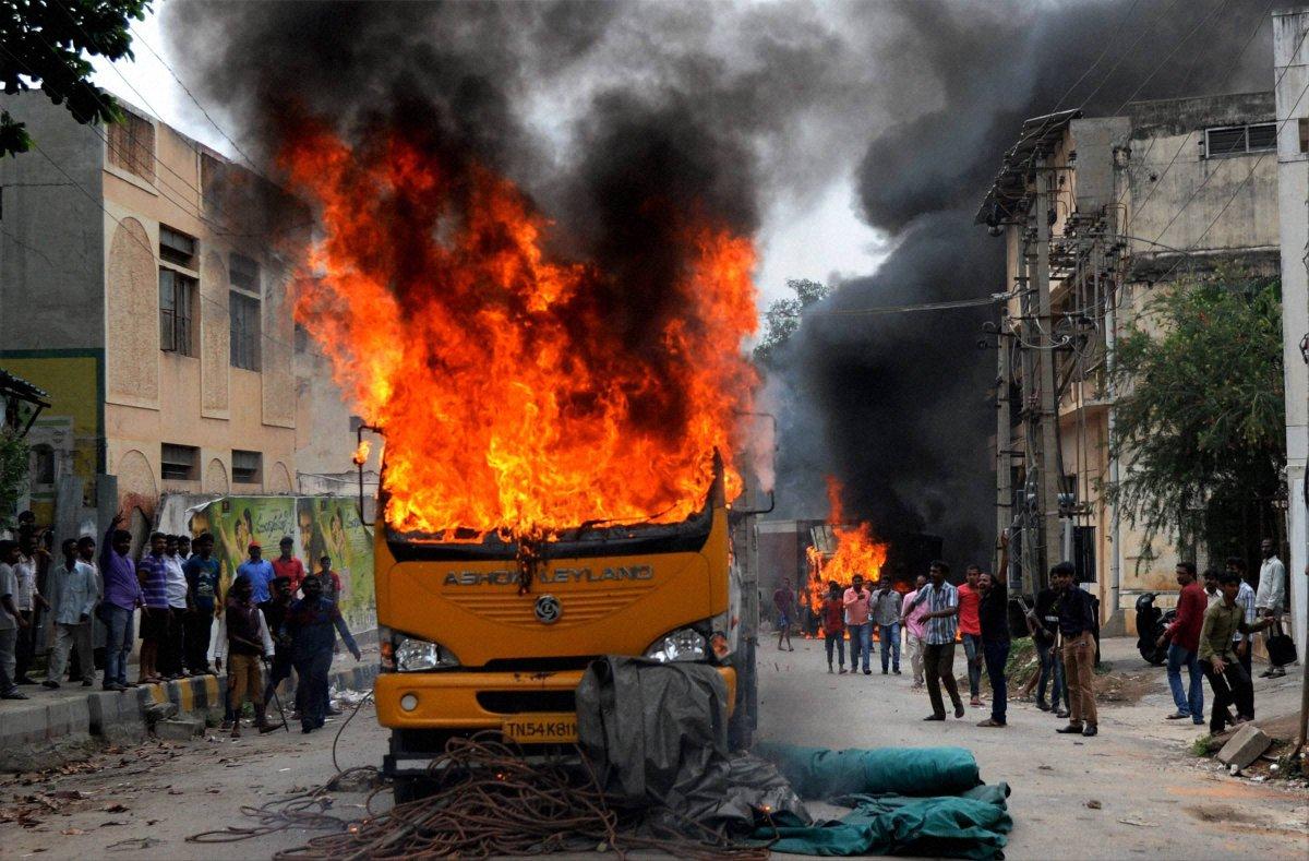 "Situation in Karnataka ""alarming"", Jaya seeks protection of Tamils and their property"