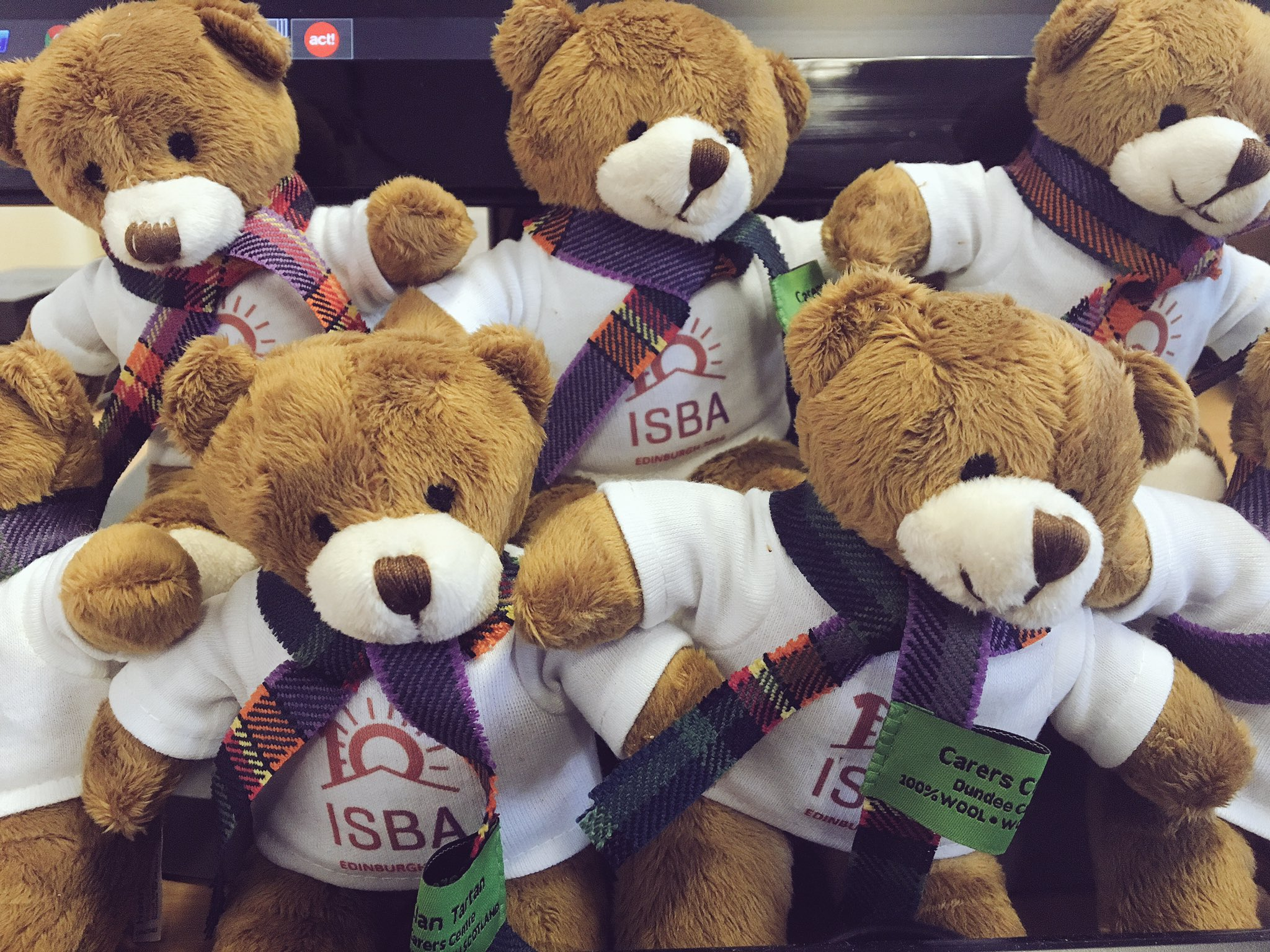 What's the collective noun for @ISBA2016 teds? A mob? A cuddle? A conference?! #isba10 https://t.co/7glVuOLbBv