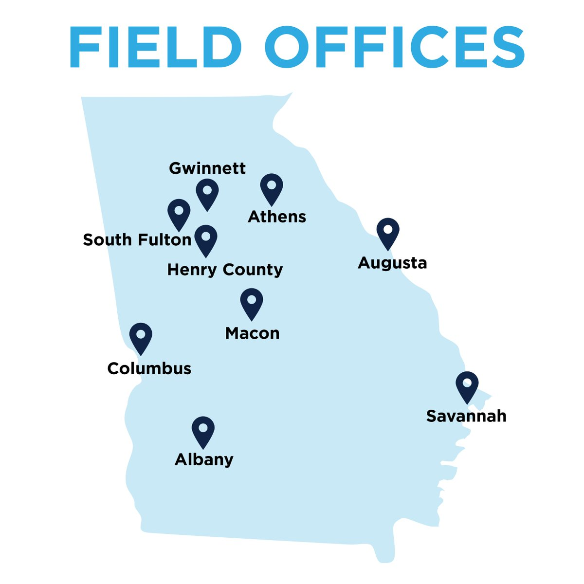 Get involved today, find a field office near you: https://t.co/umn3YudKan #NewDayGA #gadems https://t.co/EL5zDHQS9T