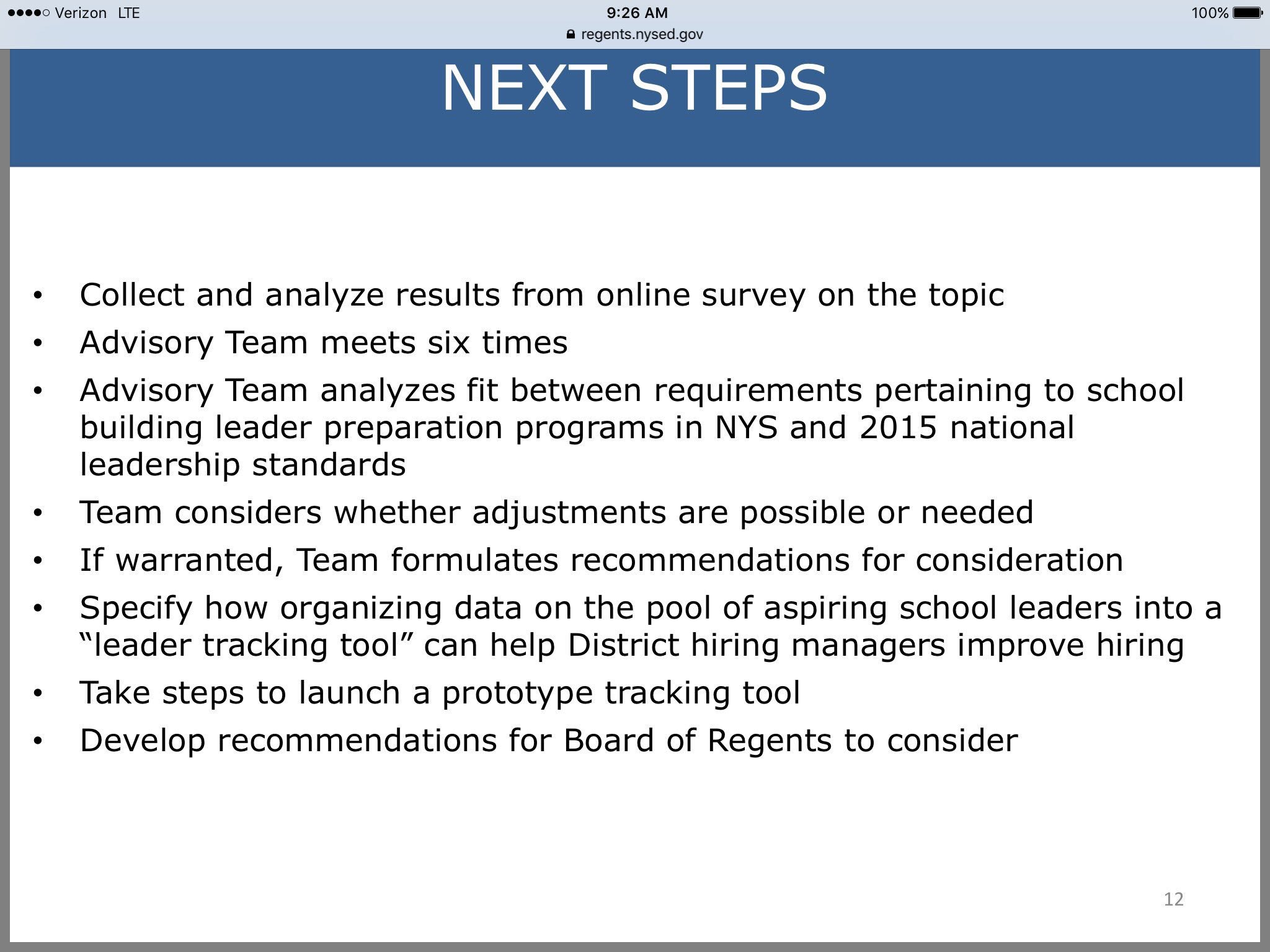 Next steps for Principal project @NYSEDNews https://t.co/SWKqX4xfqX