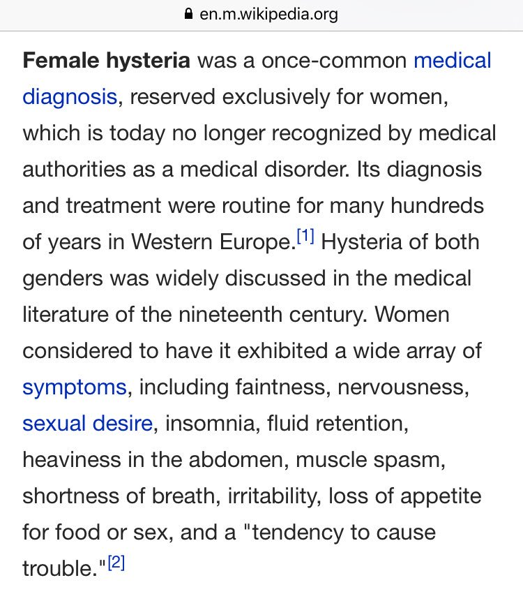 Thumbnail for When Basic Humanity is Misdiagnosed as Female Hysteria