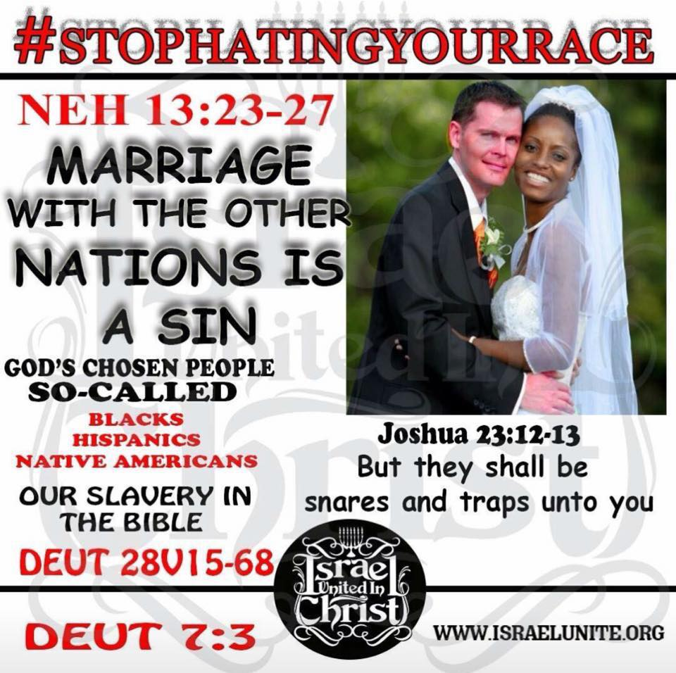 Sorry, that Is interracial marriage a sin have