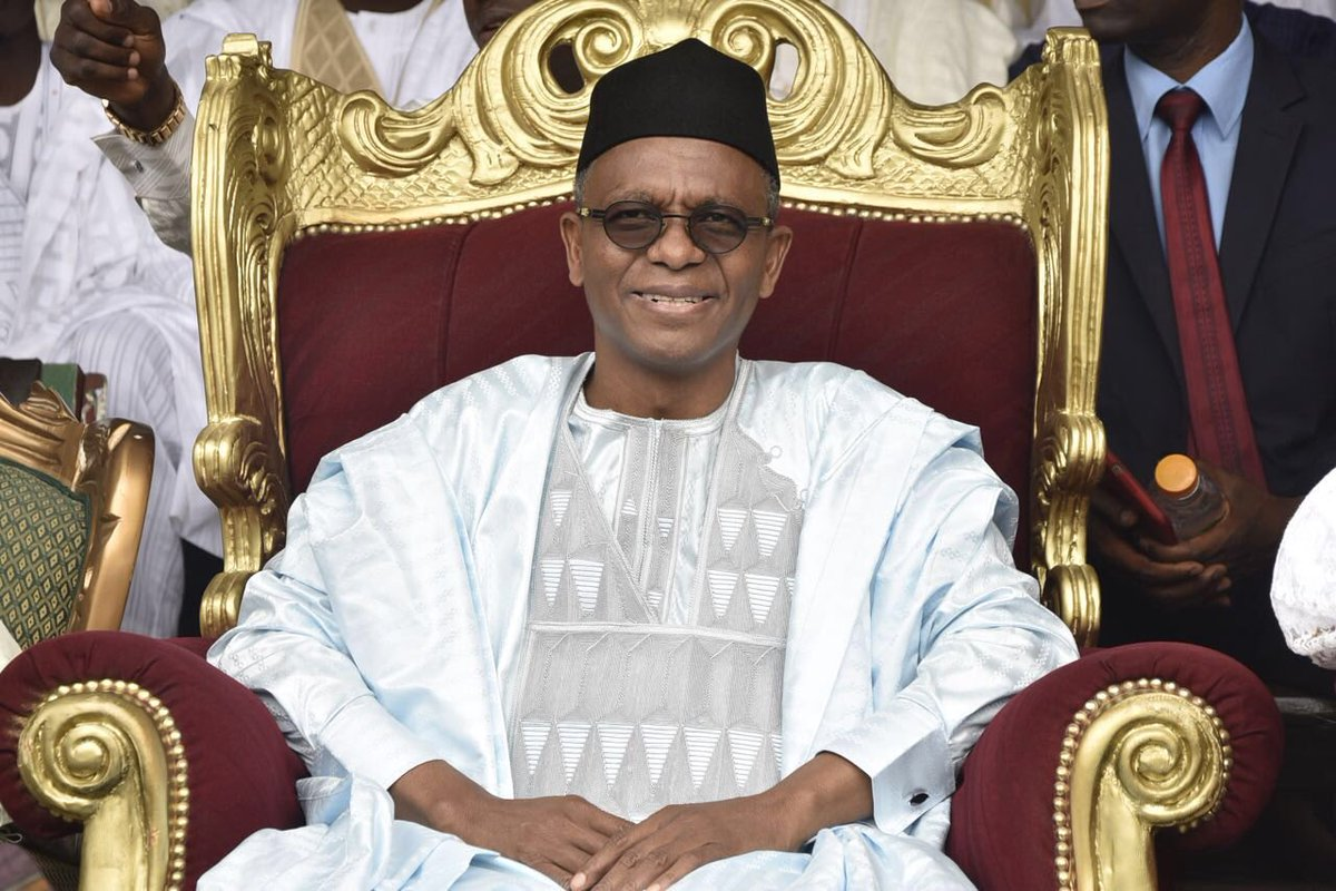 Image result for pictures of gov el rufai on sallah yesterday