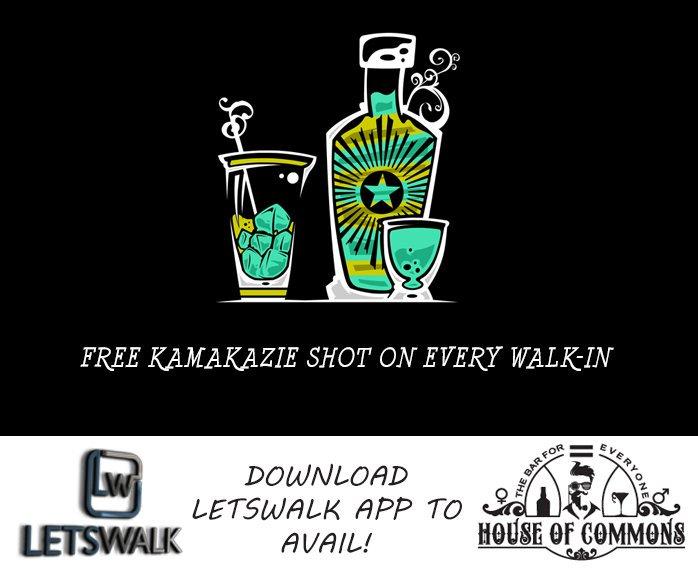 Kamakazie shot