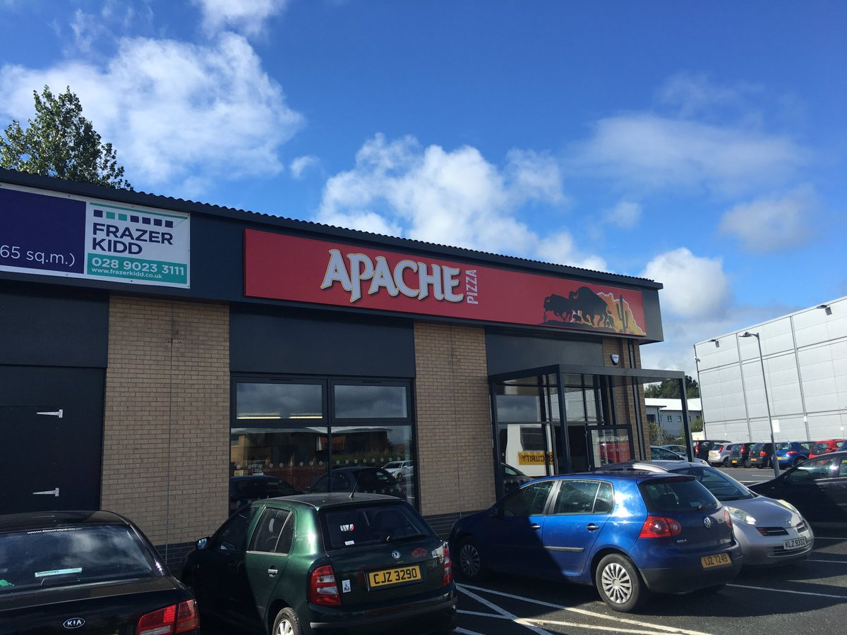 Frazer Kidd On Twitter Great To See Apache Pizza Now Open