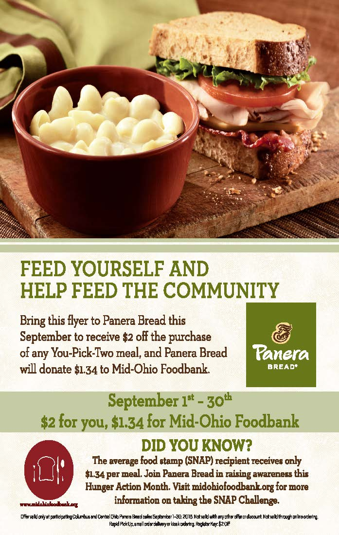 Bring this flyer to a central OH @panerabread to receive $2 off any You-Pick-Two & they'll donate $1.34 to MOF! https://t.co/t0eOLxOChE