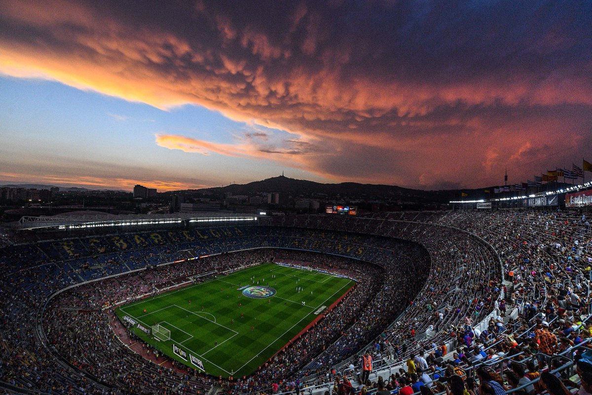 Uefa champions league on twitter camp nou at the weekend - Camp nou 4k wallpaper ...