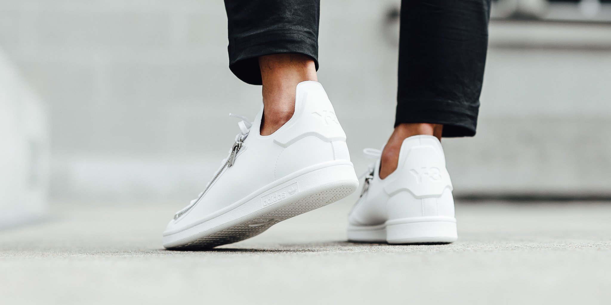 sneakers for cheap 9f422 60146 adidas stan smith y3 zip