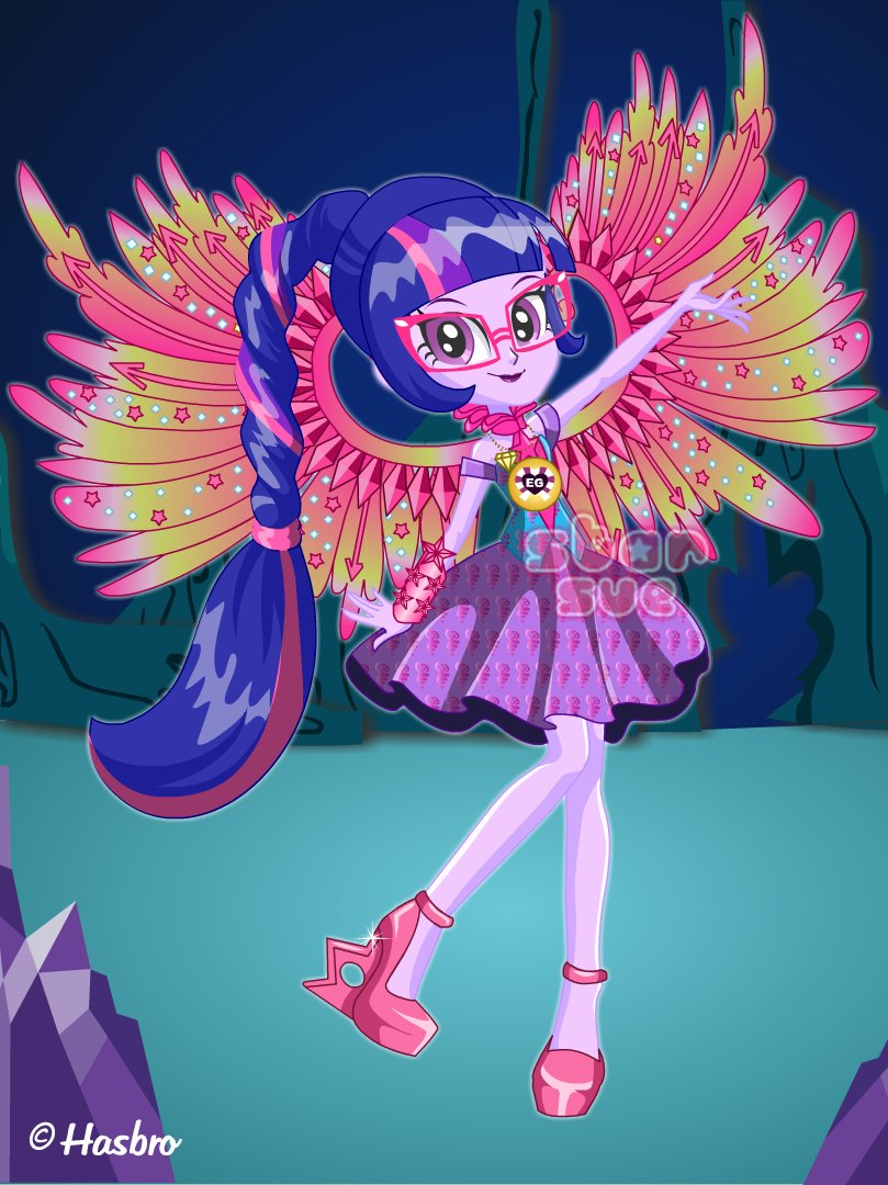 crystal guardian twilight sparkle starsuenet - 530×708