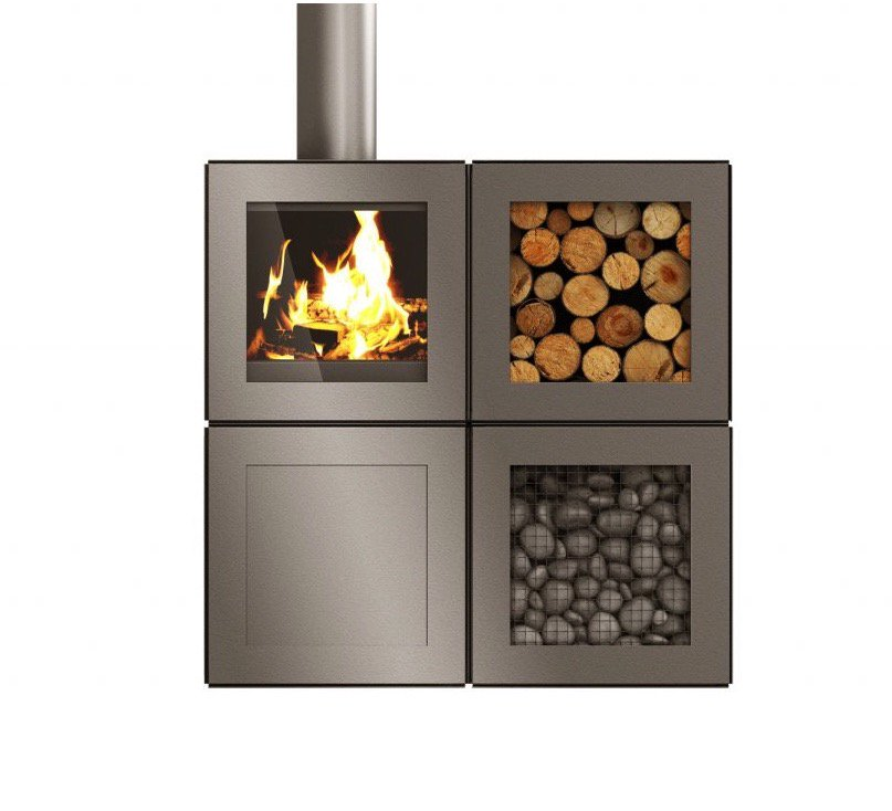 Gas stove naturally to how top a clean