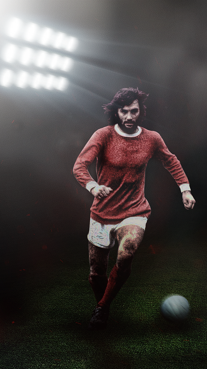 Footy Wallpapers On Twitter George Best Iphone Wallpaper