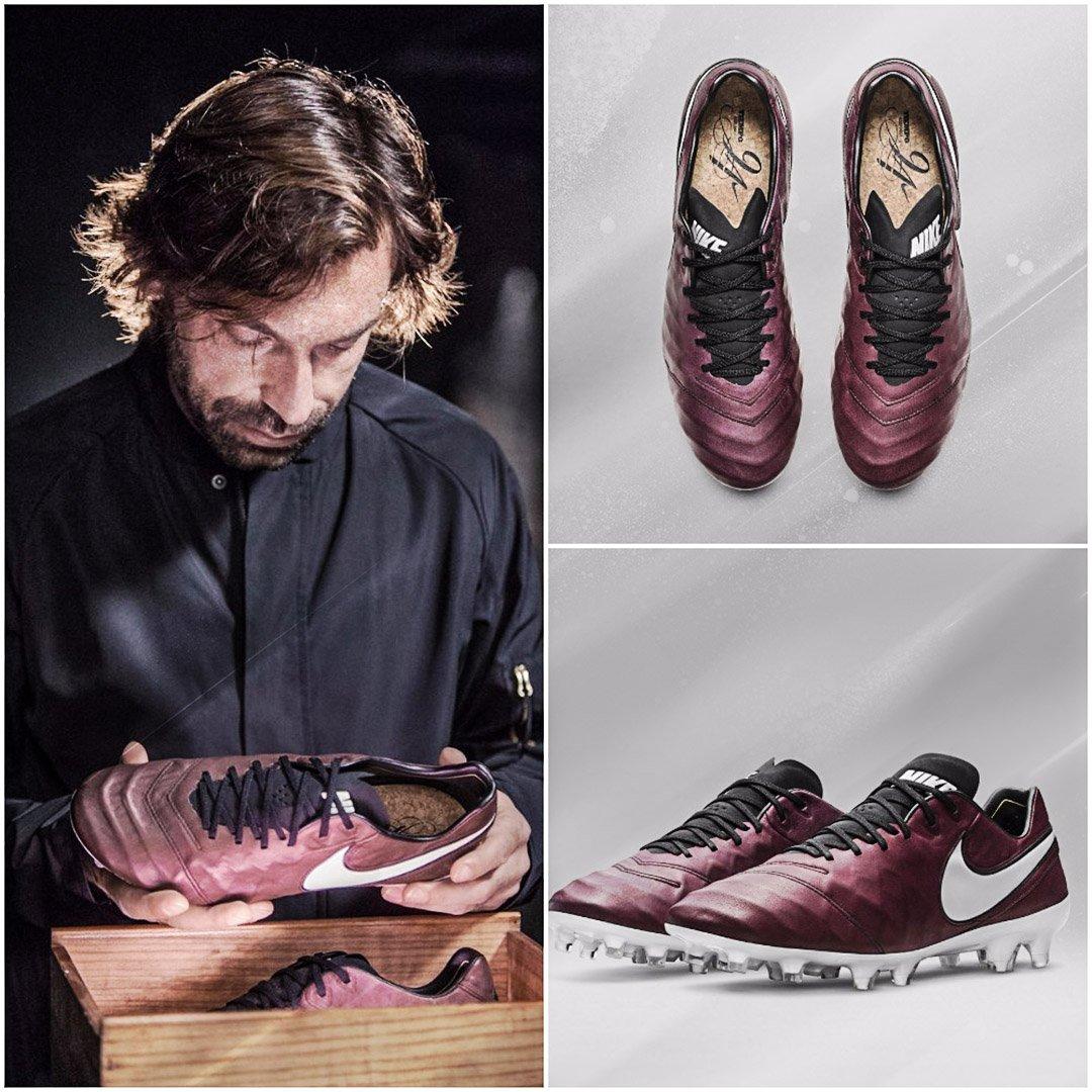 e9e37c36fd4 the nike tiempo pirlo boots inspired by andrea pirlos love of wine  nikefootball