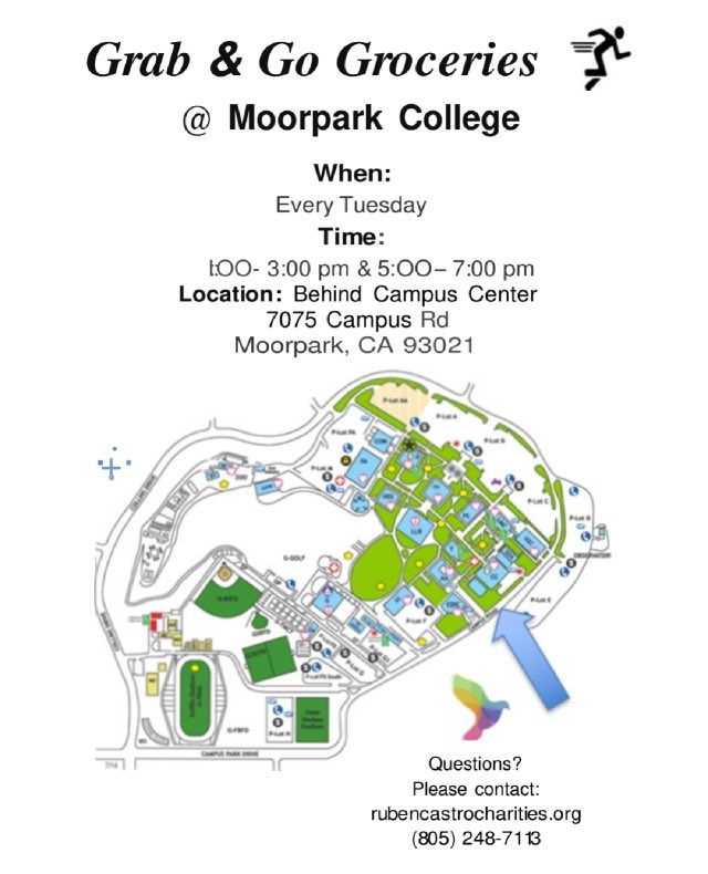 Moorpark College Gps On Twitter Grab And Go Groceries Every