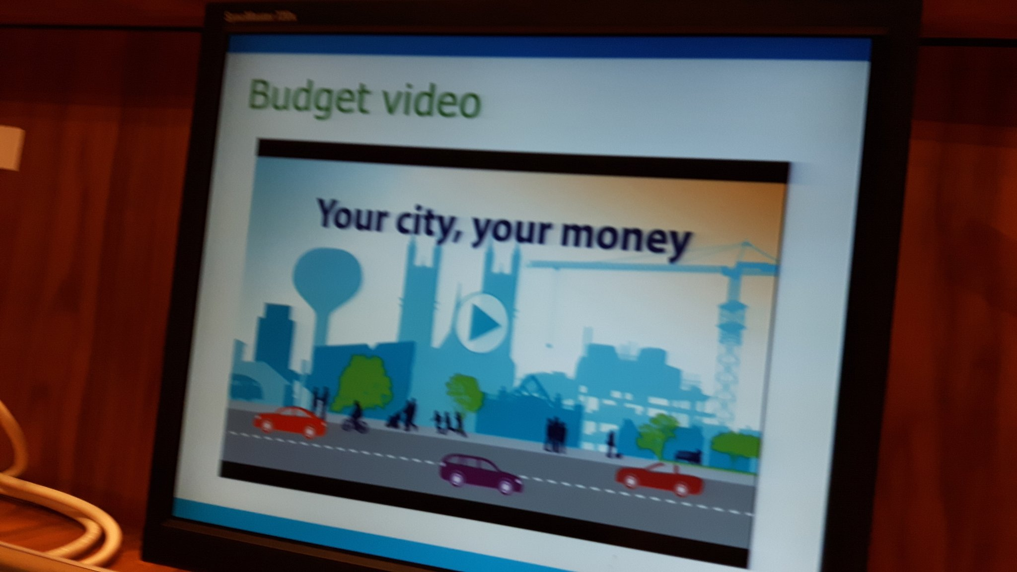 Staff unveil new @cityofguelph budget video to spark community participation. #startingpoint https://t.co/PDoAsTUGDq
