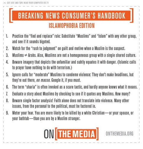 NPR's @onthemedia looks to HDS alum @rezaaslan for help with the 'Breaking News Consumer's Hbk: Islamophobia Ed.' https://t.co/QFifA48gl2