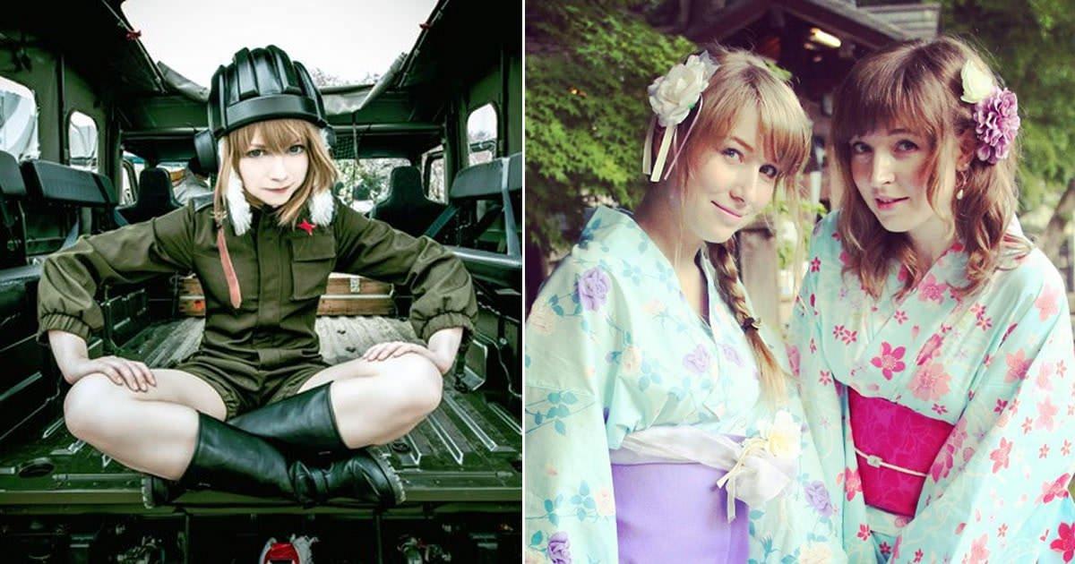 Russian girls in tokyo