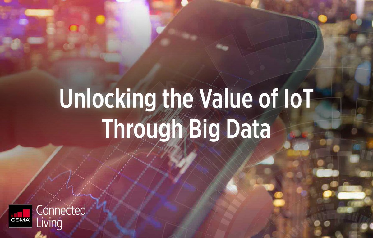 Discover how to unlock the value of #IoT through #BigData https://t.co/EhFvW1a8jP #ConnectedLiving