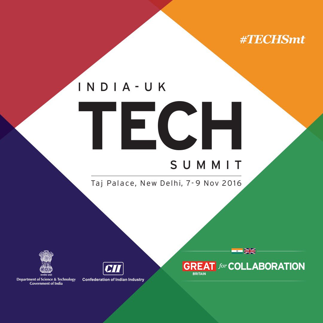 Thumbnail for India-UK Tech Summit, 7-9 November 2016