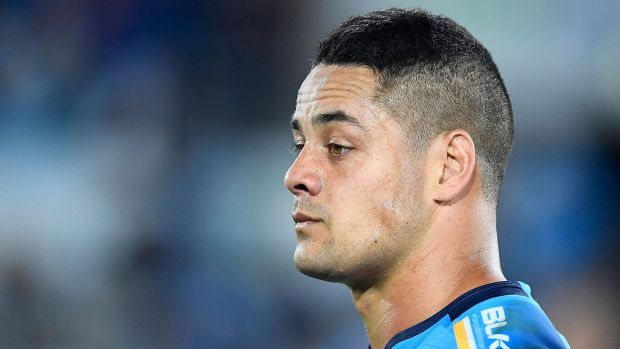 Jarryd Hayne: 'I only met him that day': @GCTitans Jarryd Hayne on