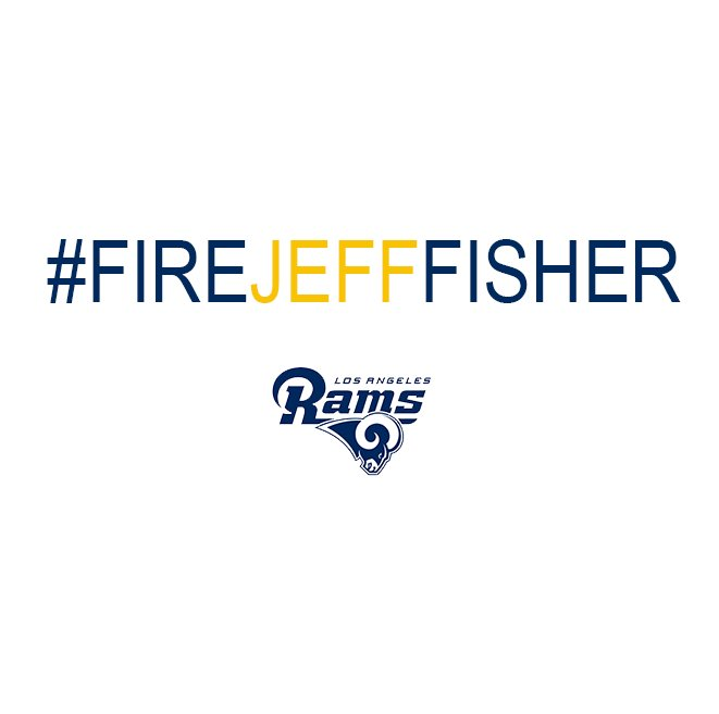 I love my Rams, but I am beyond over this. #FireJeffFisher https://t.co/qYq6kfunJC