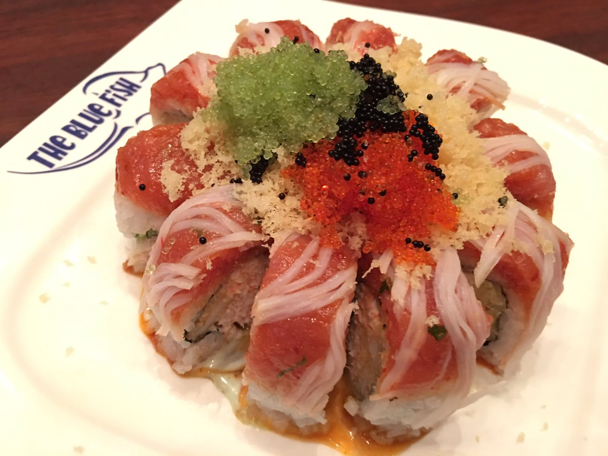 Blue fish sushi bluefishsushi1 twitter for Blue fish sushi