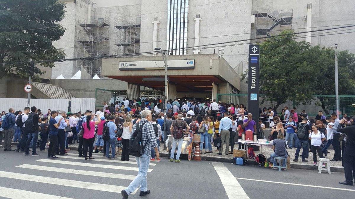 dbb75bb224275 Foto  Renan Henrique Estação Tucuruvi da Linha 1-Azul. (Foto  Band News FM)