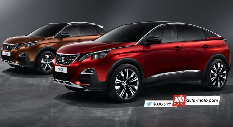 julien jodry on twitter un futur peugeot 3008 coup pour seconder le nouveau suv du lion. Black Bedroom Furniture Sets. Home Design Ideas