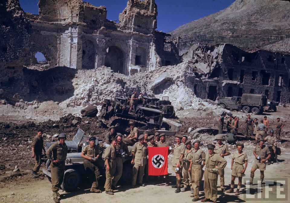 """オミーズの辞典 בטוויטר: """"モンテ・カッシーノの戦い 第二次世界大戦中 ..."""