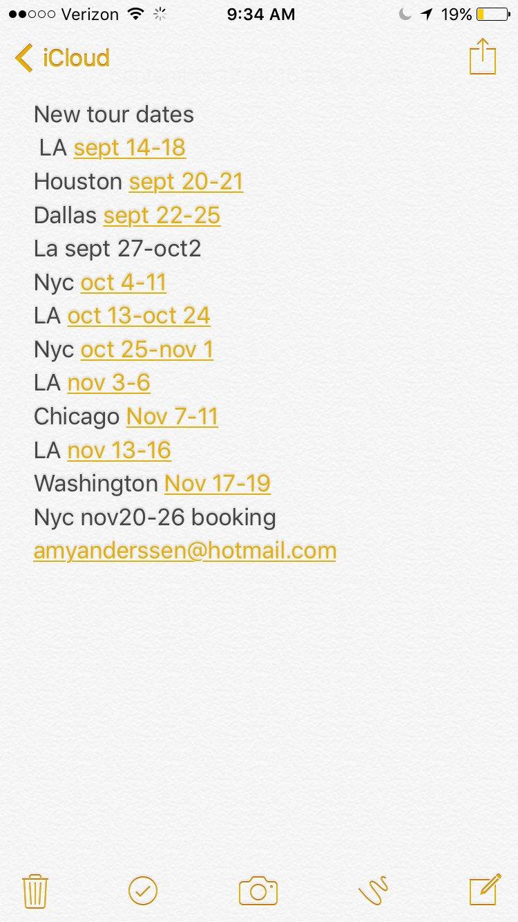 Tw Pornstars - 3 Pic Amy Anderssen Twitter New Tour -4706