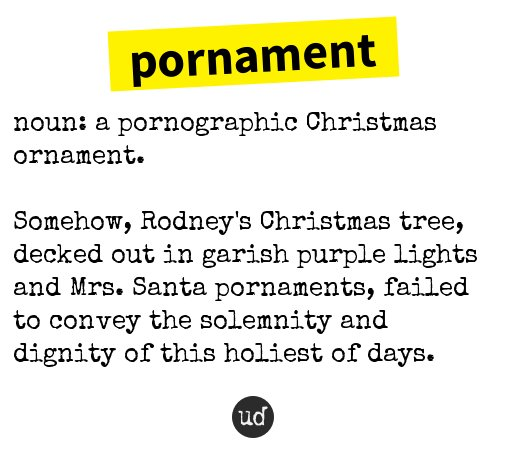 xmas urban dictionary